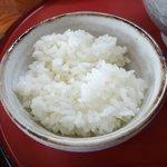 魚介ラーメン武蔵 - ご飯