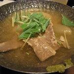 個室ダイニング 和ごころ - イベリコ豚と大根スープ煮