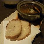 個室ダイニング 和ごころ - 牛タンシチュー和ごころ風 フランスパン付き