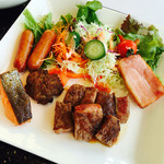 新横浜国際ホテル - トモッチの朝食~鉄板焼きステーキ朝からパクパク~