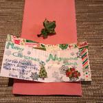ピアンテ - 2015/12 手作りクリスマスカード