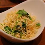 ダリアン - 豆腐干の和え物。大好きな食材なんだけど、かなりドライ。。。