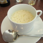 45826436 - スープ「白菜のポタージュ エスプーマ仕立て」