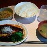 グリーンコート - 鯖味噌煮定食