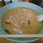 山久ラーメン - 味噌野菜ラーメン大盛り(税込み850円+200円)