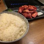 焼肉 絆 - 黒毛和牛切り落とし定食