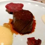 45827846 - 阿波黒牛と旬菜の赤ワイン煮
