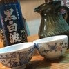 kamoryourimarimohonten - ドリンク写真:【黒白波】前割り(焼酎と水を半々で前日から寝かしています