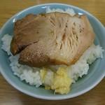 ラーメン二郎 - ラーメンドライバーオリジナル「豚ごはん」