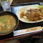 のんき - 今日のランチ       C:チキンカレー(豚汁付) 880円