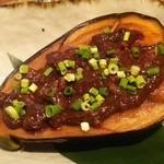 ふく鶴 - 米茄子鶏味噌