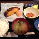 藤よし - メダイの西京焼き御膳(1,200円)
