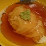 45833923 - 真鱈の白子に湯葉を巻いたものにべっ甲餡がかかったもの。
