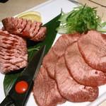 肉の割烹 田村 - これは欠かせない〜♪厚切りの牛タンとっても美味しいんです☆
