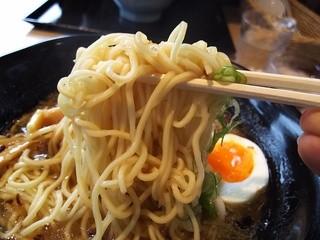 ラーメン 福栄 - 2015/11 塩ラーメン・ストレートな細麺~