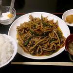 好味苑 - 好味苑 @本蓮沼 日替わりランチ定食セット 豚肉とピーマンの細切り炒め 500円(税込)