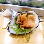 横綱寿司 - 閖上産の赤貝