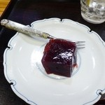 横綱寿司 - 葡萄のゼリー