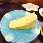 横綱寿司 - ぎょくをカットしてもらいました