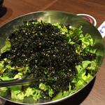 45838516 - 韓国海苔のサラダ