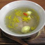 庵 - 蓮根饅頭