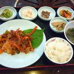釜山カルビ - 釜山豚カルビ定食