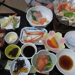 和食・寿し処 荒波 - 嫁さんの食べた「海の詩」 1500円(2015.12)
