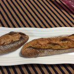 BAUM - くるみのプチバゲット 100円・そば粉と国産小麦のミドルバゲット