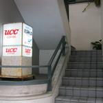 カフカ - お店への階段です。