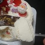 45842411 - ゆめのホールケーキ一気食い★