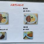 洋食 キラク - キラク(都内中央区日本橋人形町)メニュー