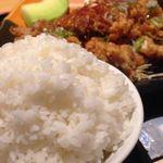 つかさ亭 - 大盛り御飯