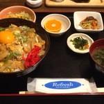 つかさ亭 - カツ丼 ¥850