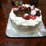 ケーキハウス ダルセーニョ - クリスマスケーキ
