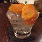 高品質珈琲と名曲 私の隠れ家 - 果実酒-柿-