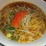 馬麺 - 辛明太麺❤ヾ(´∀`ヾ) 明太子丸ごと一本❤