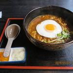 いせ福 - 特製カレーうどん(玉子付) 880円
