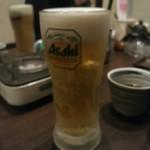 豚料理専門店らぶた - 【2015.12.25(金)】生ビール