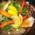 魚とワイン はなたれ The Fish and Oysters - 名物!カルパッチョ☆