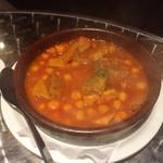バルマル・エスパーニャ - 牛もつトマト煮