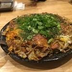 七福 - 明太チーズ広島焼き