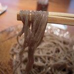 そば紀行 - 麺の感じ