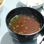 銀座 天一 - 味噌汁
