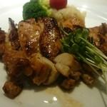 とんぼ - 鶏肉のゆず胡椒焼き