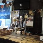 ユーロスターカフェ - カウンター内のビアサーバー