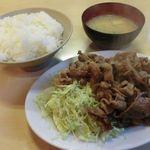 45856423 - 生姜焼き定食