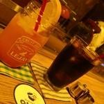 ストウブキッチン・オルモ - スプモーニ、アイスコーヒー