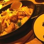 ストウブキッチン・オルモ - アサリの炊き込みご飯