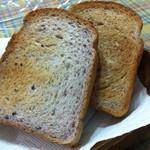45856743 - 天然酵母 十六穀食パン 1斤5枚切 ¥350+税