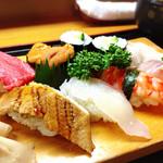 いさみ寿司 - お昼のにぎり(竹)¥3,560
